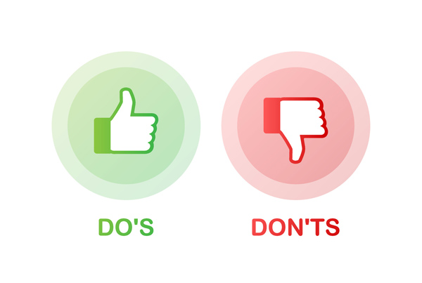 dos donts social media execution